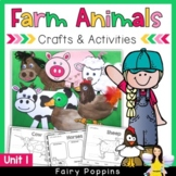 Farm Animal Crafts & Activities (Unit 1) *NEW*