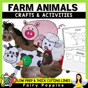 Farm Animal Crafts & Activities (Unit 1) *NEW*