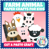 Farm Animal Crafts Bundle Pack