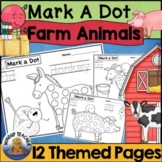 Farm Animal Dot Dauber Set