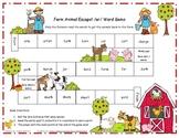 Farm Animal Escape! /ar/  Literacy Station Game RF.1.3, RF.2.3