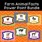 Farm Animal Facts Power Point Bundle