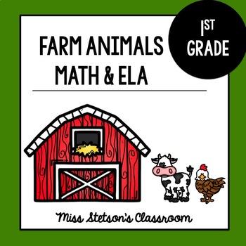 Farm Animal First Grade Theme