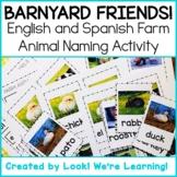 English and Spanish Farm Animal Flashcards - Barnyard Friends!