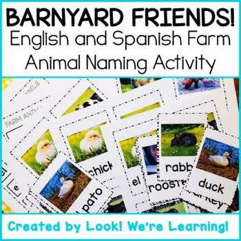 Farm Animal Flashcards - Barnyard Friends!
