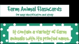 Flashcards: Farm animals