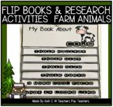Farm Animal Flip Books- Informative Writing, Research & Or
