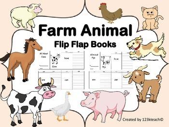 Farm Animal Flip Flap Books