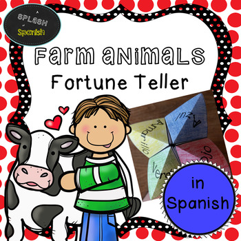Farm Animal Fortune Teller in Spanish