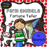 Farm Animal Fortune Teller in Spanish