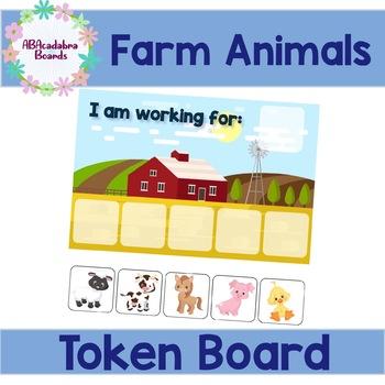 Farm Animal Friends Token Board
