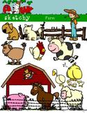 Farm Animals Clip art / Farm clipart