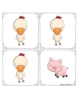 Farm Animal Graphing