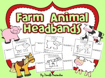 Farm Animal Headbands