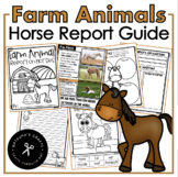 Farm Animal / Horse Report Research / Non-Fiction