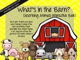Farm Animal Interactive Book!