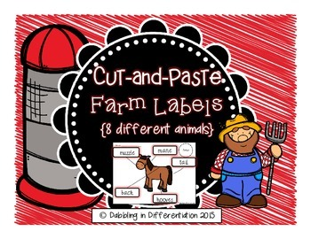 Labels - Farm Animals