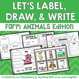 Let's Label, Draw, and Write About...Farm Animals