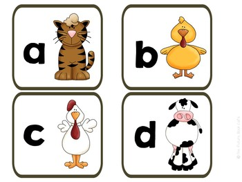 Farm Animal Letter matching