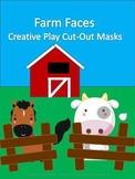 Farm Animal Masks for Creative Play