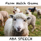 Farm Animal Match Game