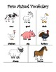 Farm Animal Math Bundle (Graphing, Word Problems, Vocabulary & MORE)