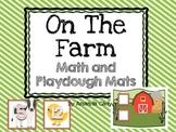 Farm Animal Math Mats