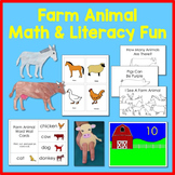 Farm Animal Math and Literacy Fun