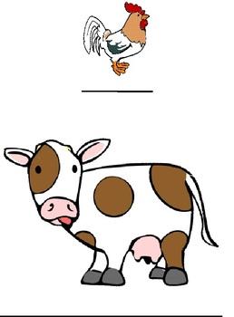 Farm Animal Measurement Write the Room