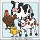 Farm Animal Moms and Babies Clip Art Set - Chirp Graphics