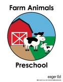 Farm Animal Pack - Sorting, Tracing, Puzzles, Cutting, Pat
