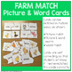 Farm Animal Parent & Baby Match Cards