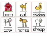 Farm Animal Picture Cards