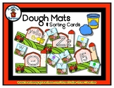 Farm / Animal -  Play Dough Manipulative Mats - Alphabet N