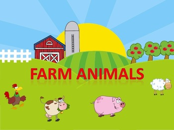 Farm Animal Power Point