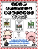 Farm Animal QR Code Research with Nonfiction Writing Book