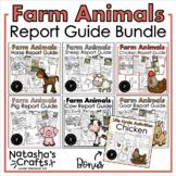 Farm Animal Reports/ Research / Informative Writing Bundle