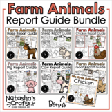 Farm Animal Reports/ Research / Informative Writing Bundle