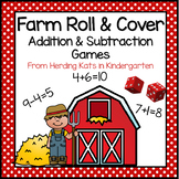 Farm Roll & Cover Math Games!