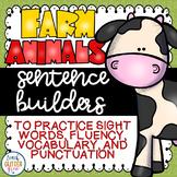 Farm Animal Sentence Building
