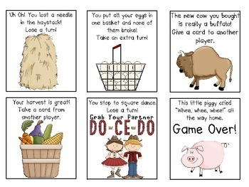 Farm Sight Word Game