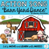 "Song:""Come On Down to the Barnyard"" Farm Literacy Activiti"