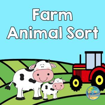 Farm Animal Sort -- Big and Little
