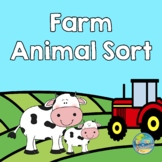 Farm Animal Sort -- Big and Little