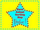 Farm Animal Sorting Map Free