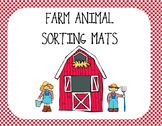 Farm Animal Sorting Mats