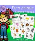 Farm Animal Sorting by Attributes
