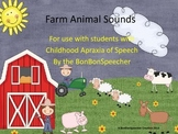 Farm Animal Sounds Book