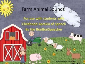 Farm Animal Sounds Book