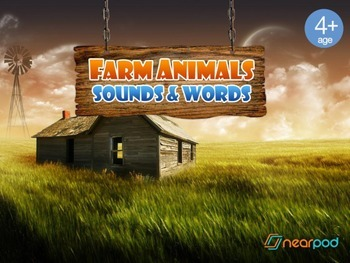 Farm Animal Sounds and Words